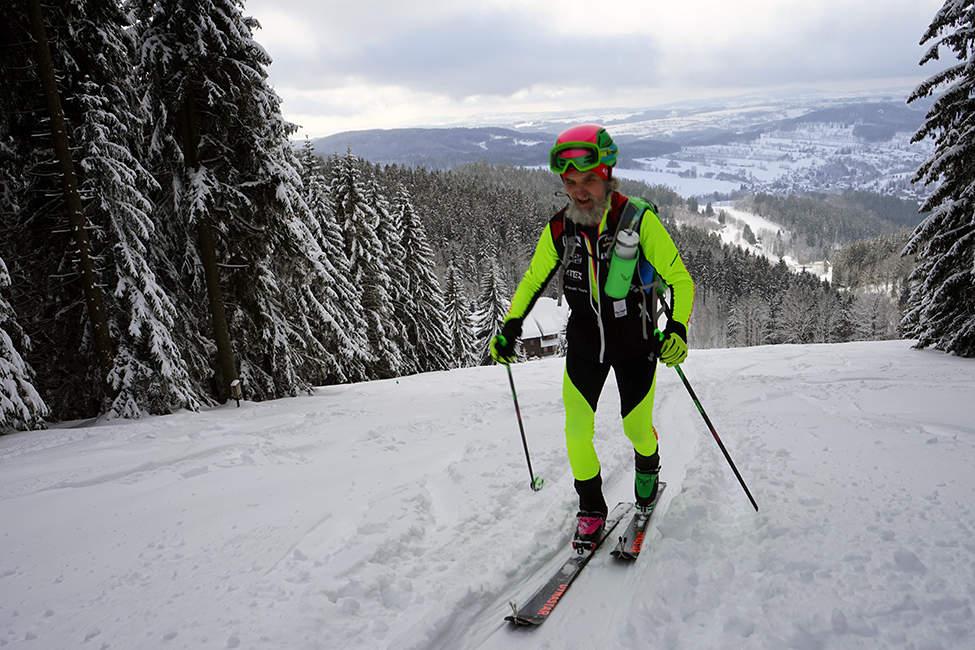 Skialpinistický závod Krkonoše
