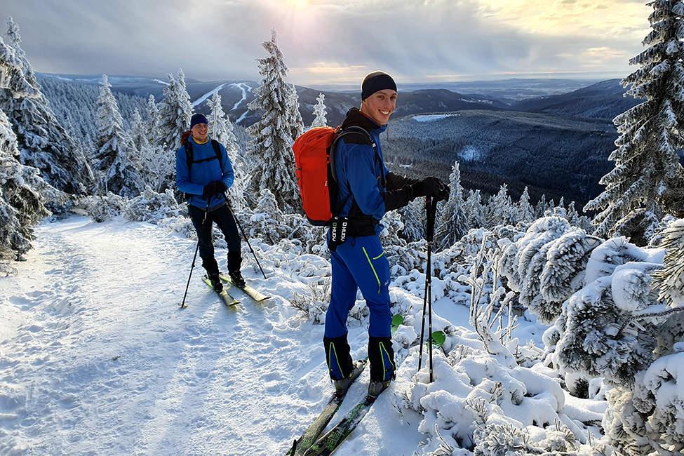 Deuter batoh skialpinismus