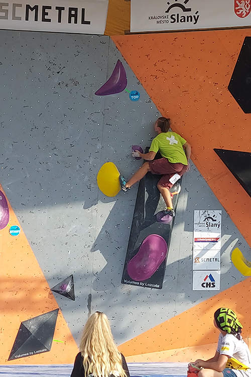 bouldering mládež