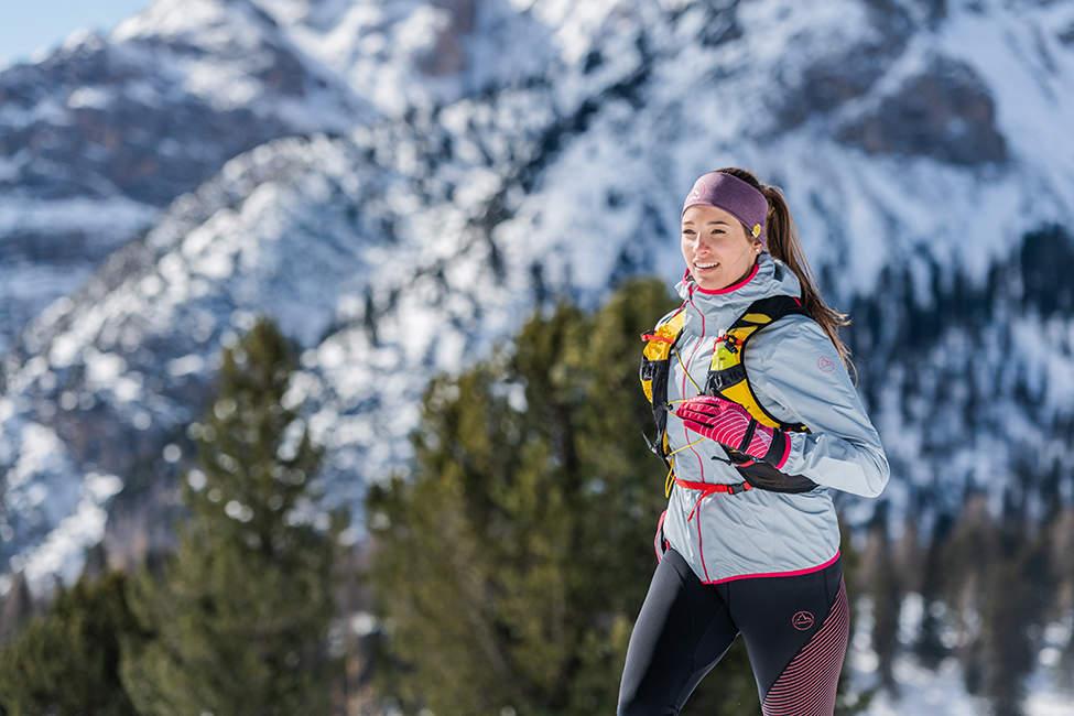 běhání v horách