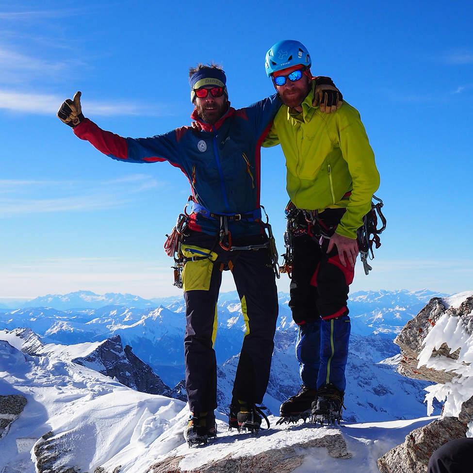 Alpy v zimě