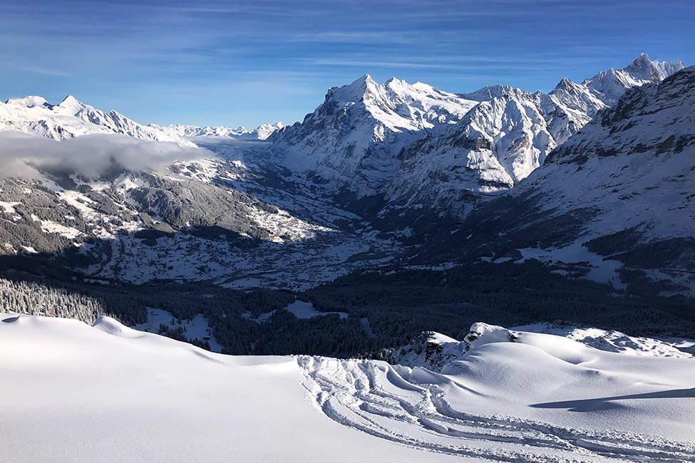 panoramata Alpy