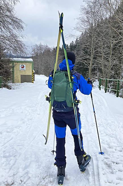 batoh Deuter lyže