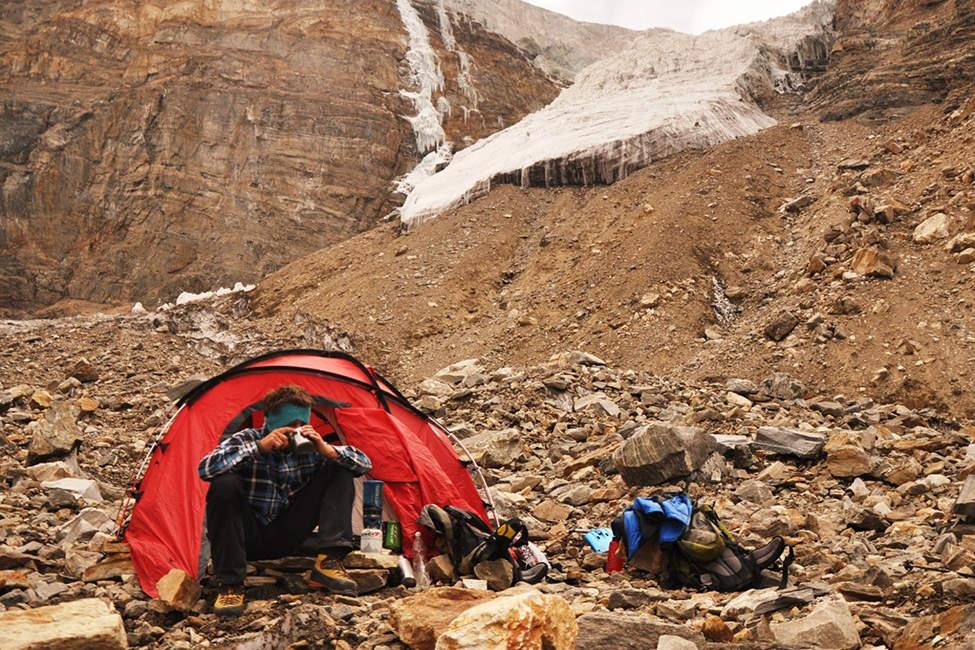 vaření na horolezecké expedici