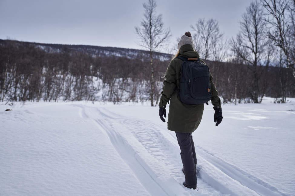 výlet v zimě